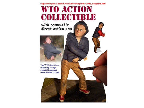 WTO Action Collectible (with spring =action arm)