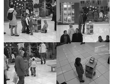Beggar Robot