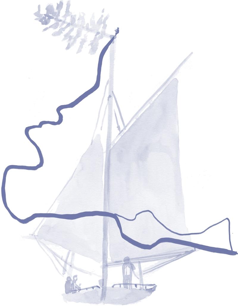 艾米.弗朗切奇尼,《種子之旅》,2016,水彩、紙