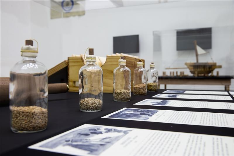 未來農夫,《種子之旅》,展場一景