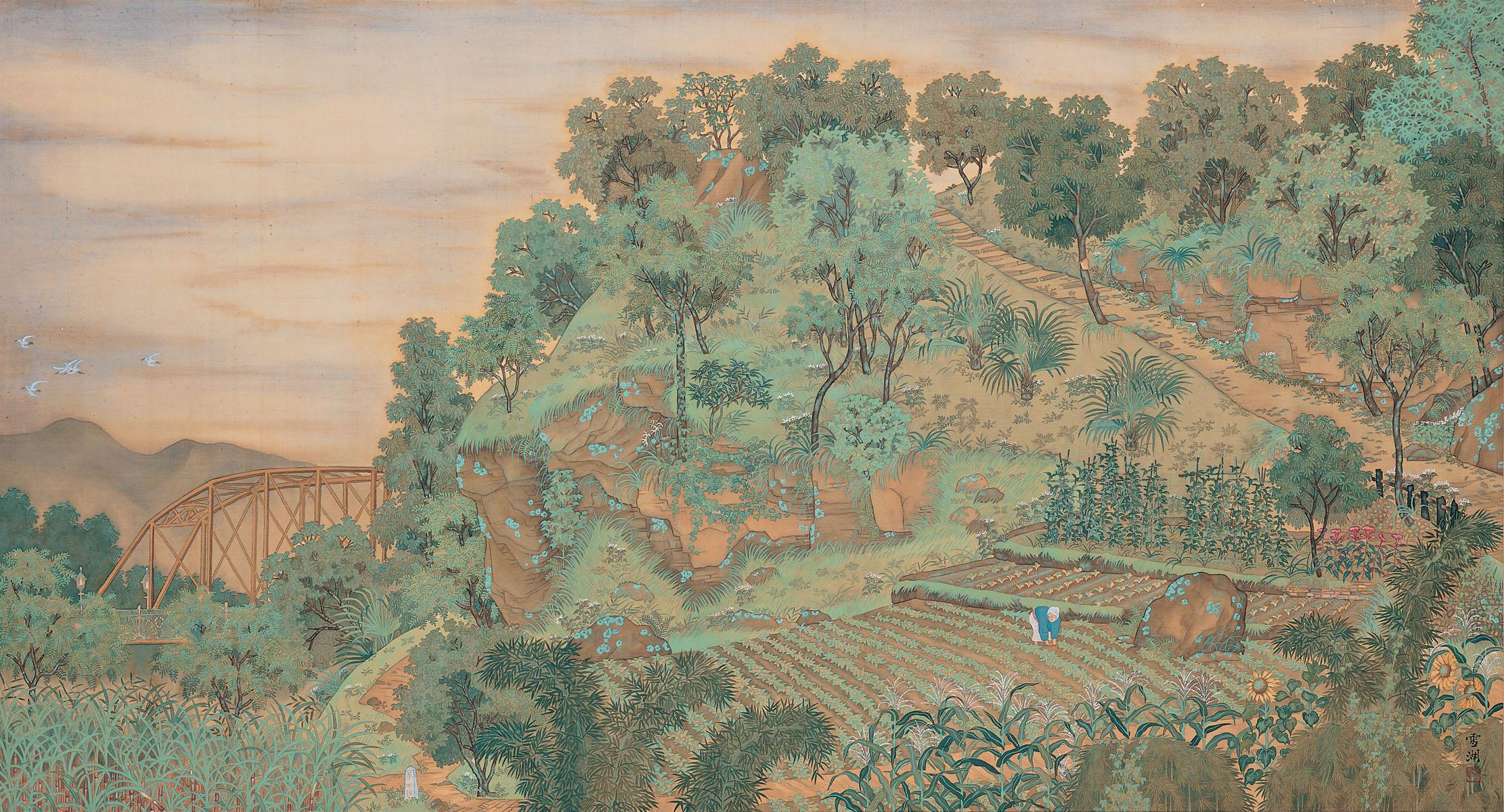 從郭雪湖《圓山附近》(1928)到「圓山有樂園」(1987)——劍潭山步道、圓山水神社走讀