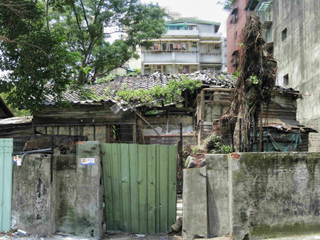 齊東街舊屋拆牆-2